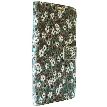 Flower Wallet Case for N5, Cases, Mobilenzo, MobilEnzo