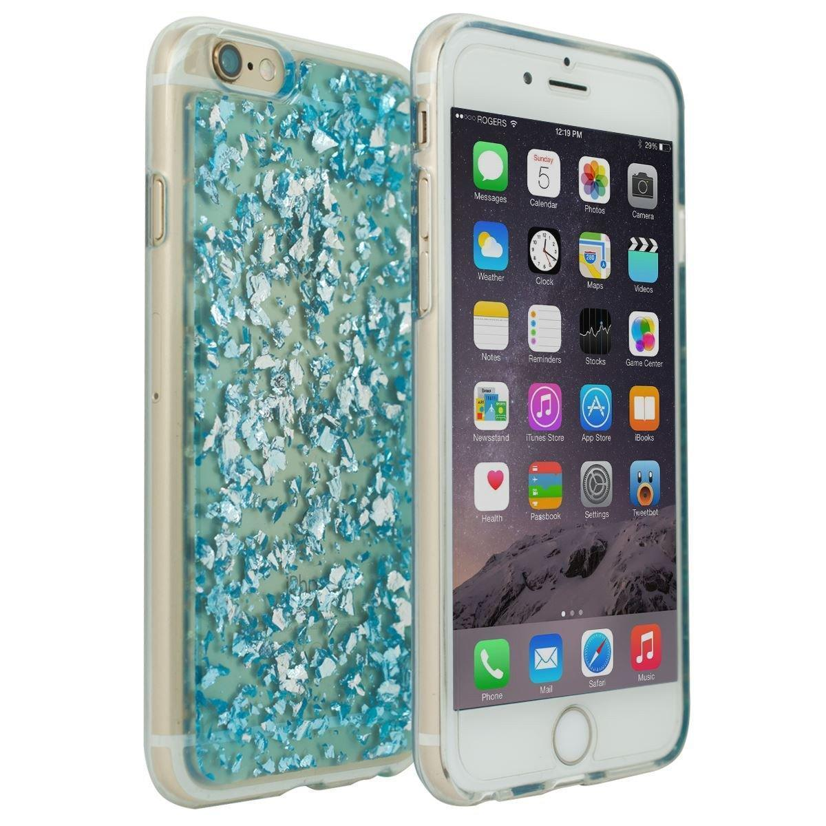 Confetti Case for iPhone 6 - Blue