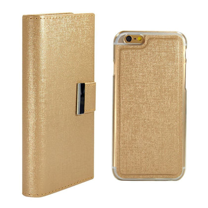 Real Wallet Case for iPhone 5C - Gold