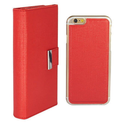 Real Wallet Case for iPhone 5C - Red