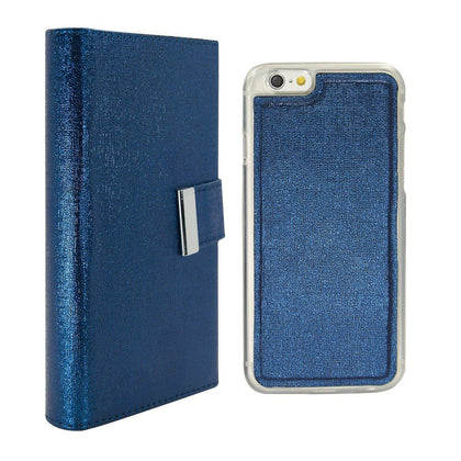 Real Wallet Case for iPhone 5C - Dark Blue
