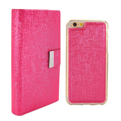 Real Wallet Case for iPhone 5C - Hot Pink