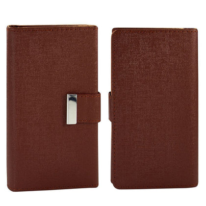 Real Wallet Case for S6 - Brown