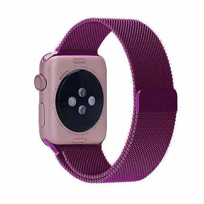 Stainless Steel iWatch Band 42/44mm - Magenta