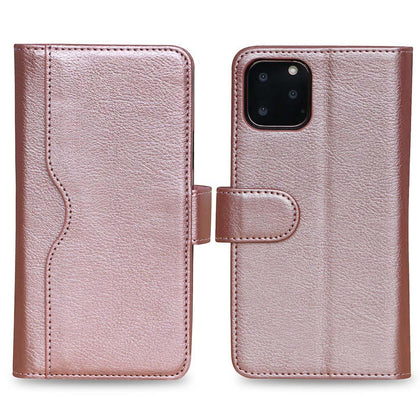 V-Wallet Leather Case For Samsung Galaxy Note 10 Plus - Rose Gold