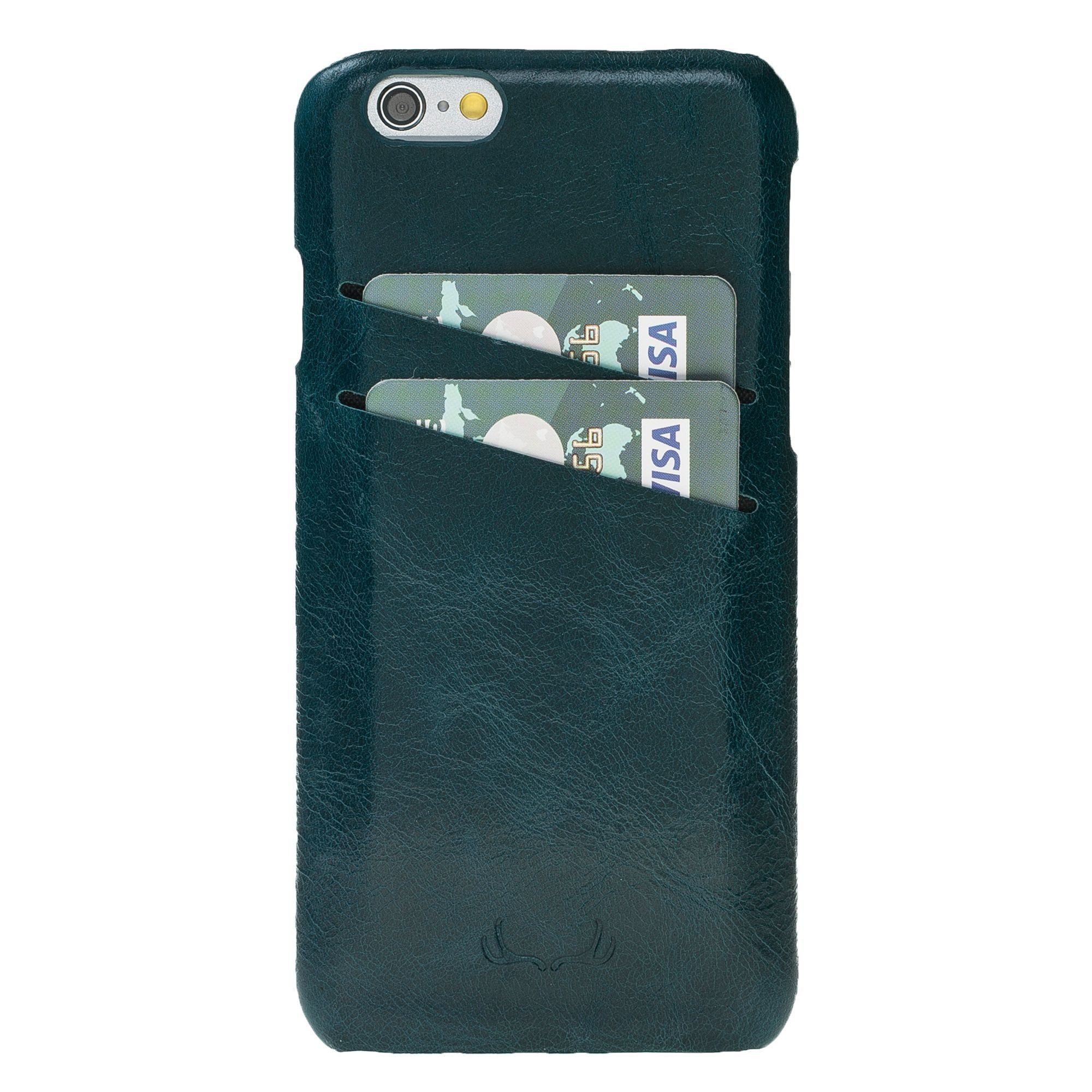 BNT Ultimate Jacket Credit Card Leather Cases - Vessel - iPhone 6/6S Plus - Blue