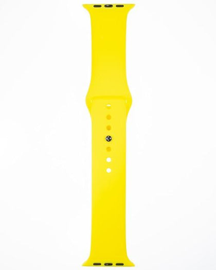 Premium Slicone iWatch Band 38/40mm - Yellow