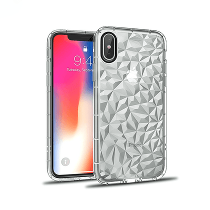 3D Crystal Case for iPhone XR - Clear
