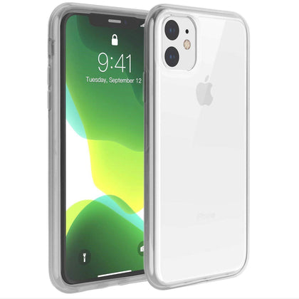 Hard Shell Transparent Back Case for iPhone 11 - Clear