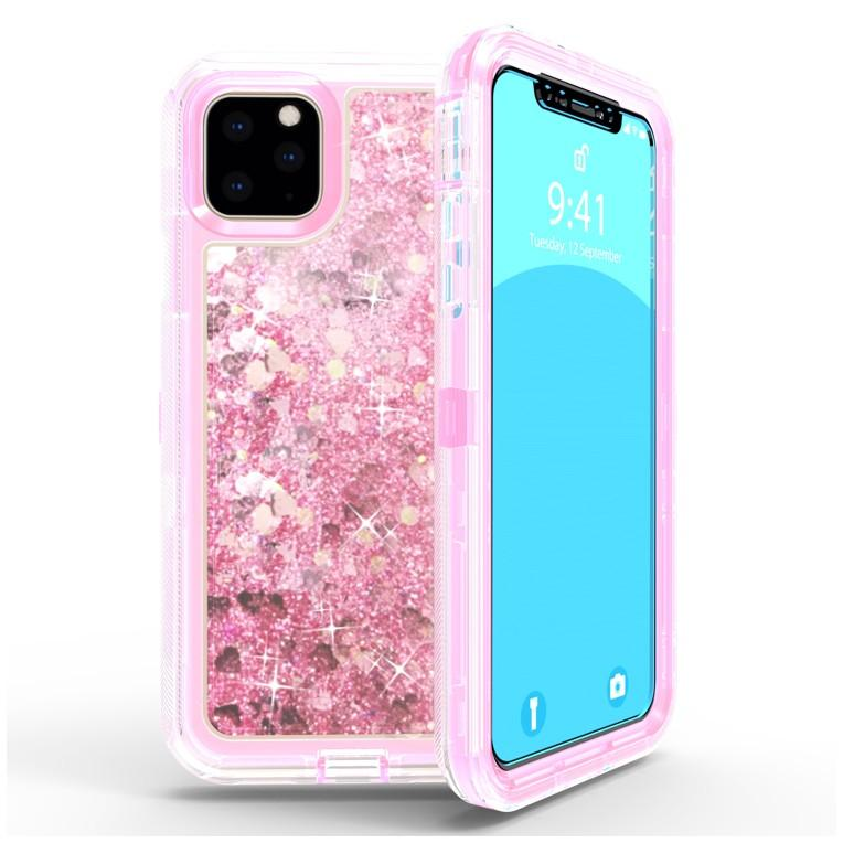 Liquid Protector Case for iPhone 11  - Pink