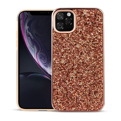 Color Diamond Hard Shell Case for iPhone 11 - Champagne Gold