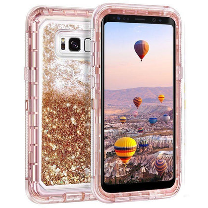 Liquid Protector Case for Samsung S10 Plus - Gold