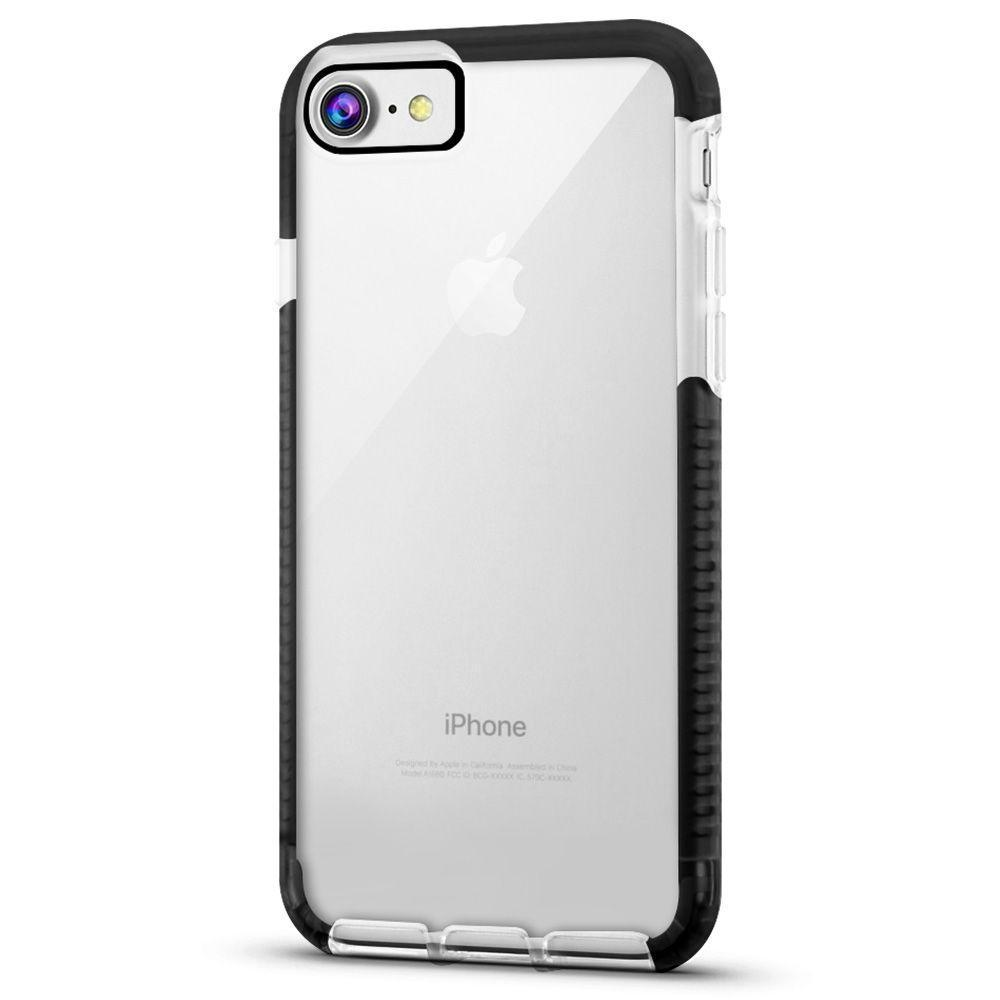 Elastic Clear Case for iPhone 6 - Black Edge