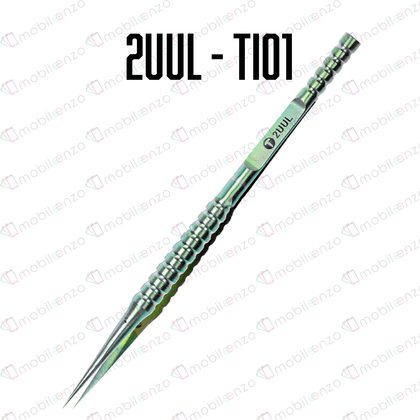 2UUL / Ti01 Straight Head Titanium Alloy Ultraprecise Tweezer