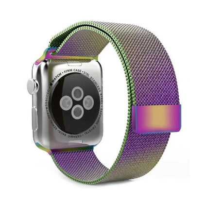 Stainless Steel iWatch Band 42/44mm - Colorful