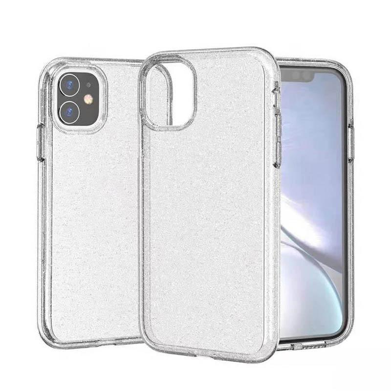 Transparent Sparkle Case for iPhone 11  Pro - Clear