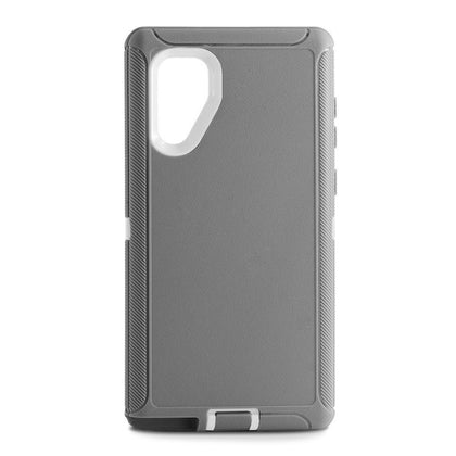 DualPro Protector Case for Samsung N10 Plus - GREY & WHITE