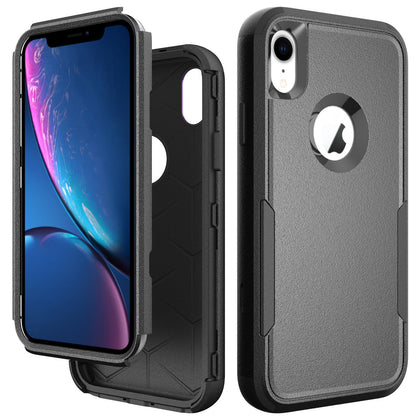 Commander Combo Case for iPhone XR - Black