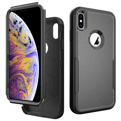 Commander Combo Case for iPhone Xs Max - Black