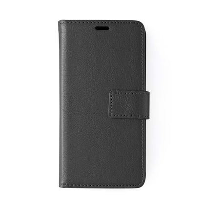 Classic Magnet Wallet Case For Samsung Galaxy Note 10 Plus - Black