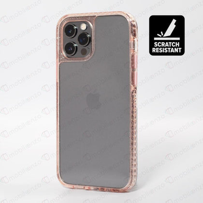 Scratch-Resistant Case for iPhone 12 / 12 Pro (6.1) - Sparkle Pink
