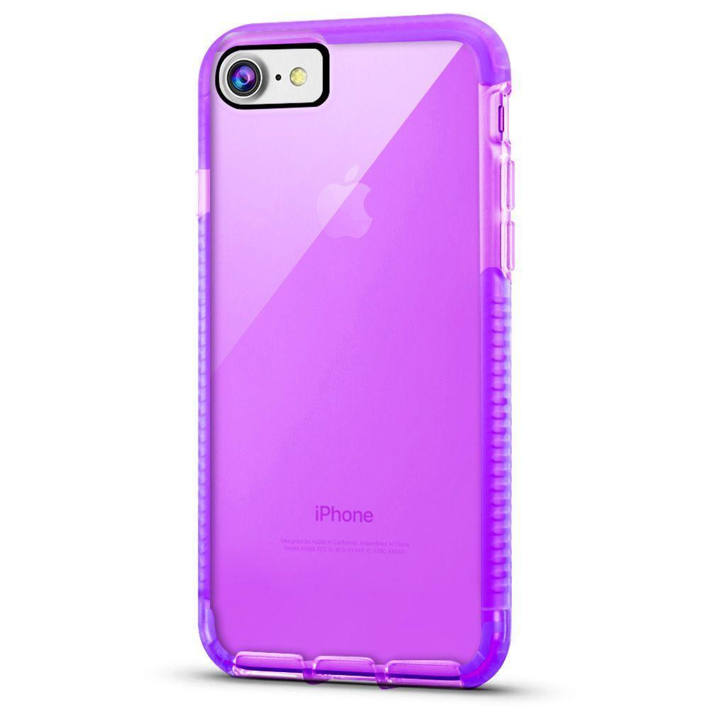 Elastic Clear Case for iPhone 6/7 /8 - Purple