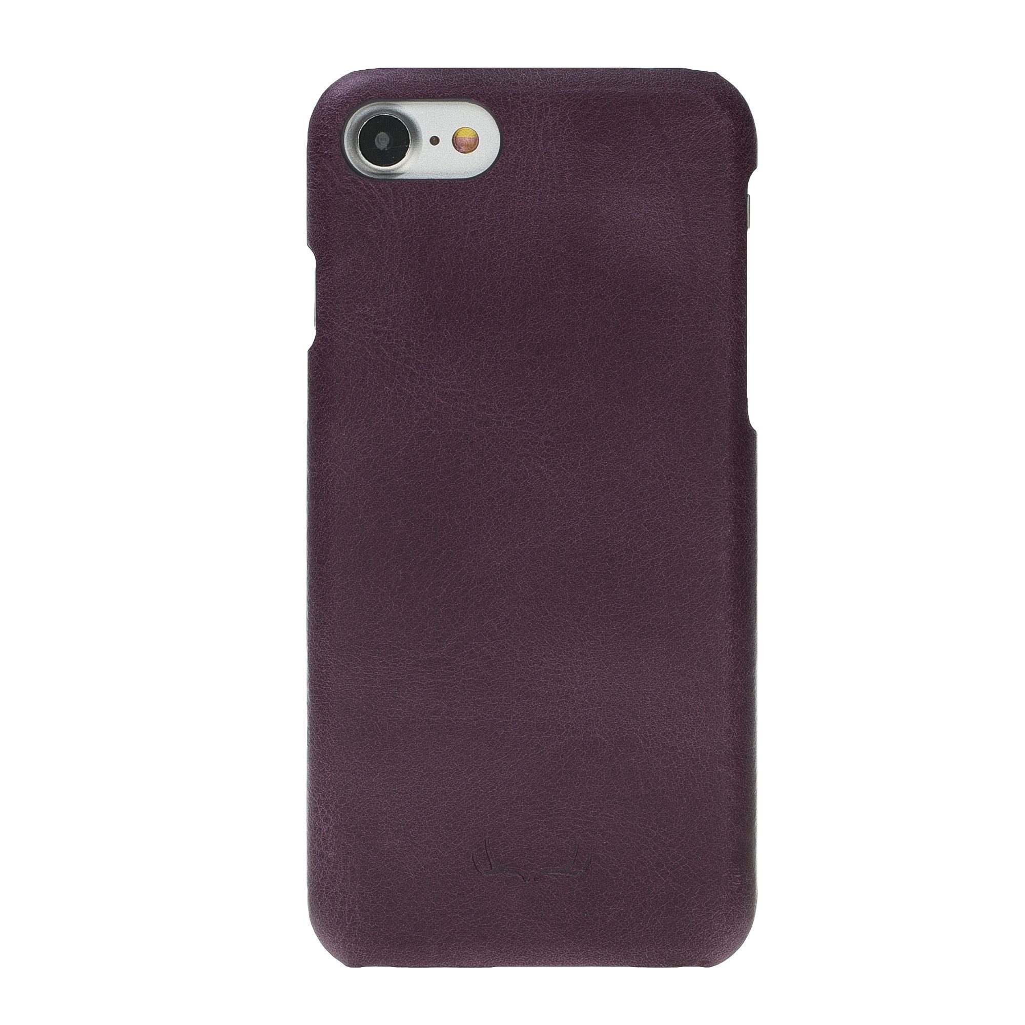 BNT Ultimate Jacket Leather Cases - Crazy - iPhone 7/8 - Purple