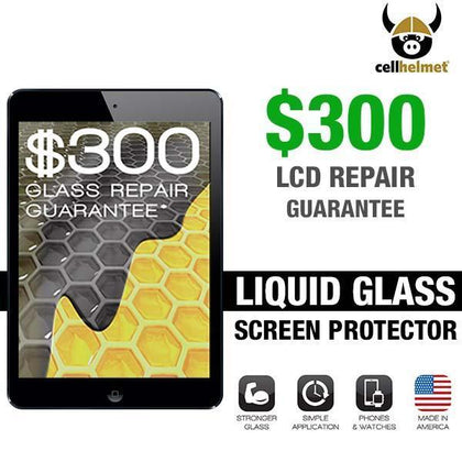 CellHelmet Liquid Glass Pro + Screen Protection  (Tablet, $300 Guarantee)
