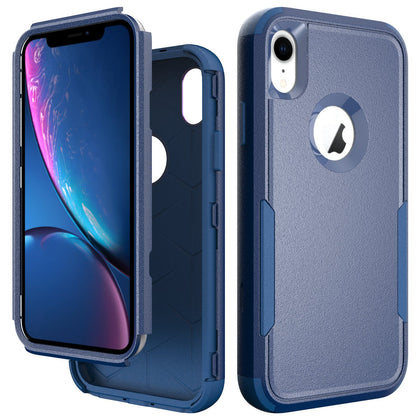 Commander Combo Case for iPhone XR - Dark Blue