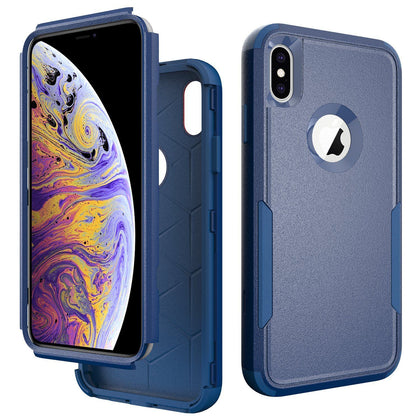 Commander Combo Case for iPhone Xs Max - Dark Blue
