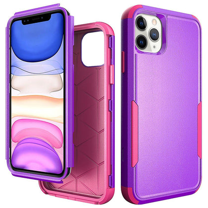 Commander Combo Case for iPhone 11 Pro Max - Purple and Pink