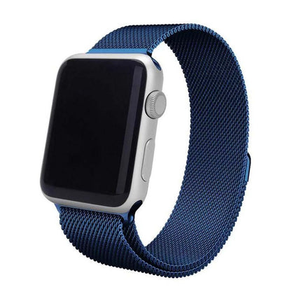 Stainless Steel iWatch Band 42/44mm - Blue