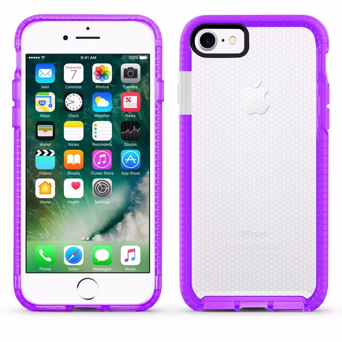 Elastic Dot Case for I6 - Purple Edge