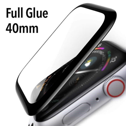 Tempered Glass for Apple Watch 40MM Full Glue (3D Curve)