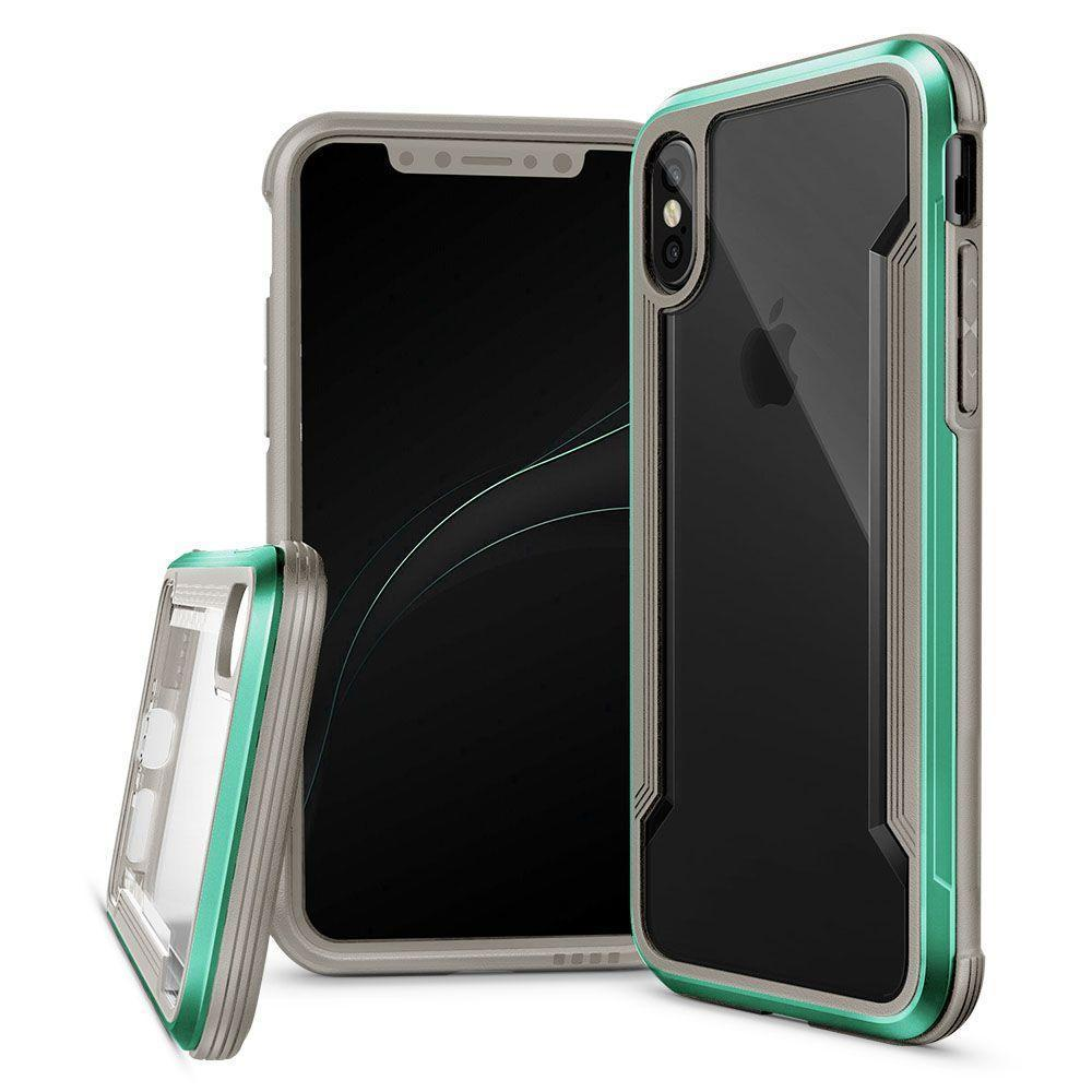 Silicone Acrylic Case for iPhone 7 - Teal