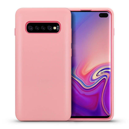 Hybrid Combo Layer Protective Case for Galaxy S10 - Pink