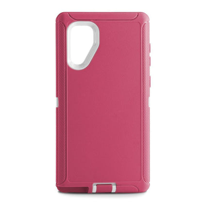 DualPro Protector Case for Samsung N10 Plus - PINK & WHITE