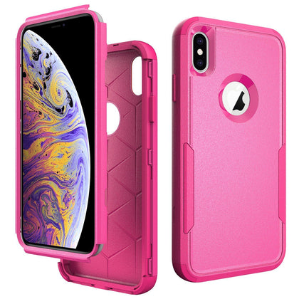 Commander Combo Case for iPhone Xs Max - Pink
