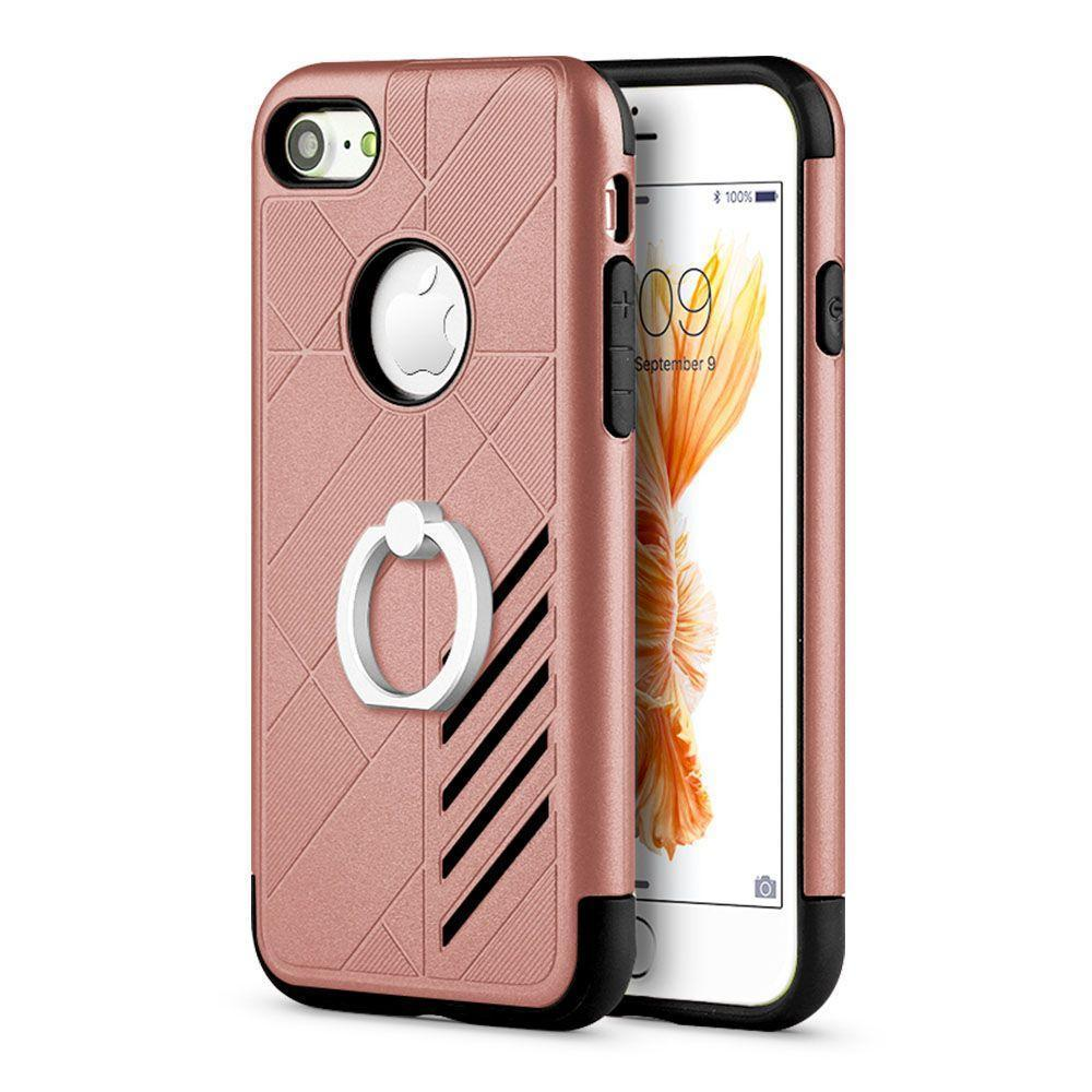 Prism Ring Case for iPhone 7 Plus /8 Plus - Rose Gold