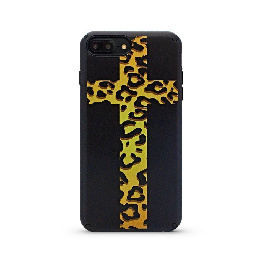 Cool Case for iPhone 6/7/8 - Yellow Cross