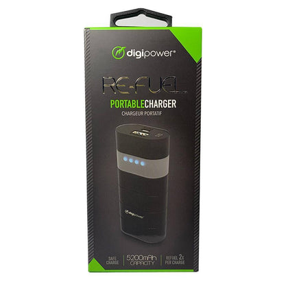 Digipower Re-Fuel Portable Charger 5200 mAh Capacity