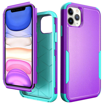 Commander Combo Case for iPhone 11 Pro Max - Purple and Teal