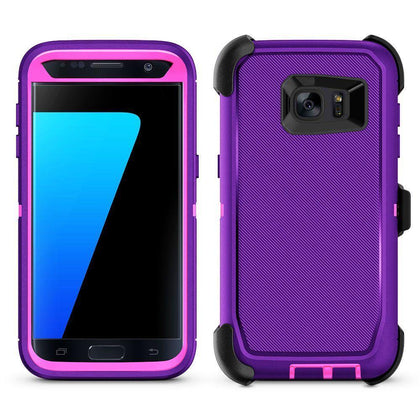 DualPro Protector Case for S7E - Purple & Pink