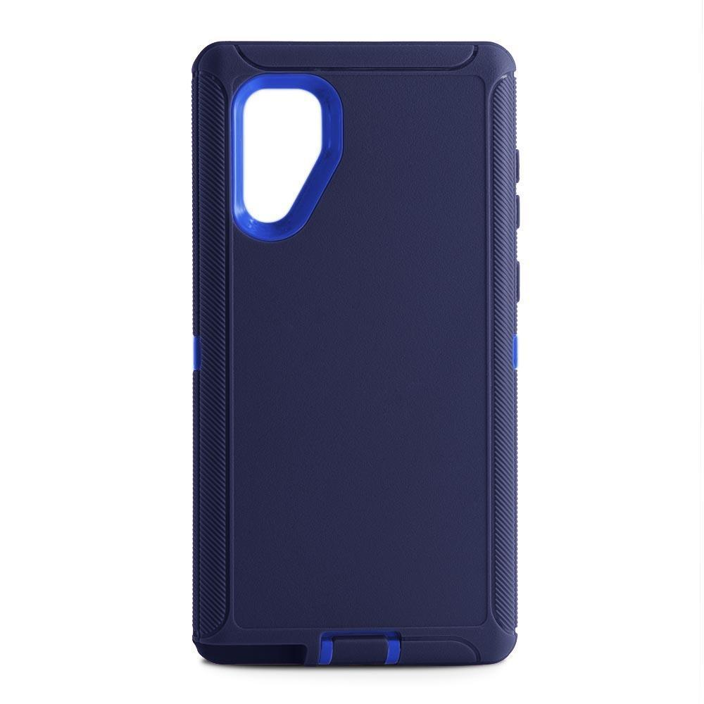 DualPro Protector Case for Samsung N10 Plus - DARK BLUE & BLUE
