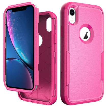Commander Combo Case for iPhone XR - Pink