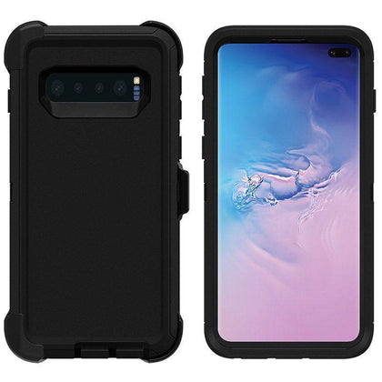 DualPro Protector Case for Samsung S10 Plus - Black