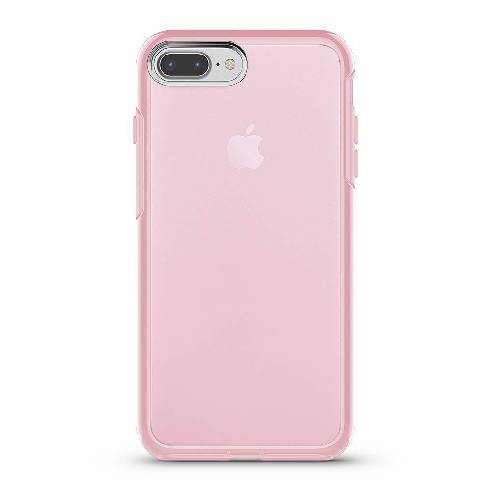 Transparent Color Case for iPhone 6/7/8 - Pink
