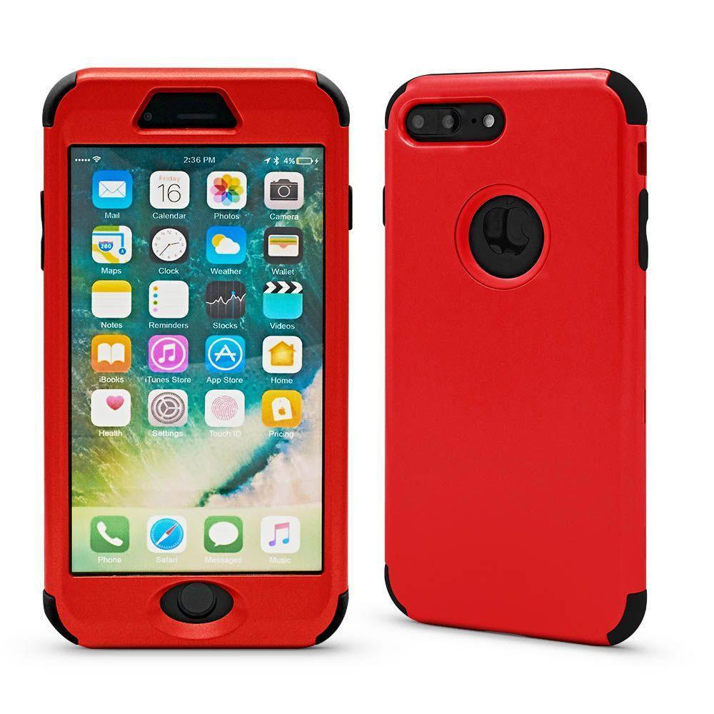 3N1 Plain Case for iPhone X, XS - Red