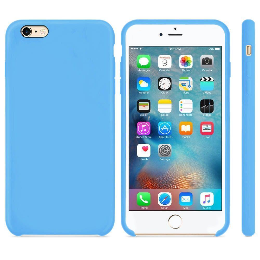 Premium Silicone Case For iPhone 7 /8 - Blue