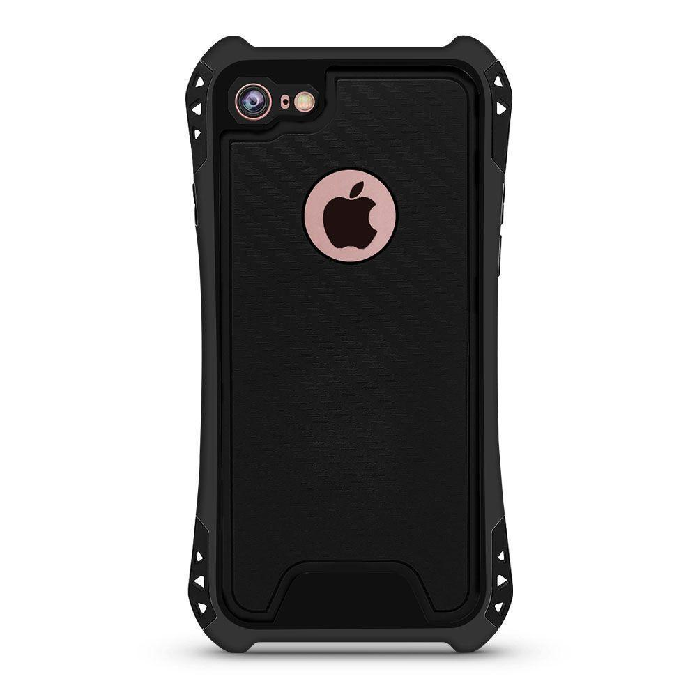 Carbon Style Case for iPhone 7 /8 - Black
